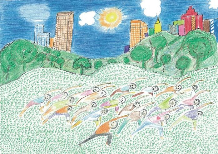 東京都千代田区日比谷公園1 日比谷公園 第二花壇の芝生広場